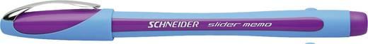 Schneider Kugelschreiber Slider Memo XB 150208 violett, hellblau 1,4 mm