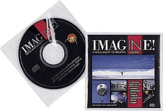 Durable CD/DVD-Hüllen aus PP/5202-19 farblos Inh.10