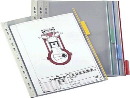 Durable Sichttafel 5607 5607-19 für DIN A4 farblos 5St.
