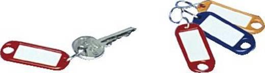 Schlüsselanhänger WEDO Classics Schwarz 10 St.