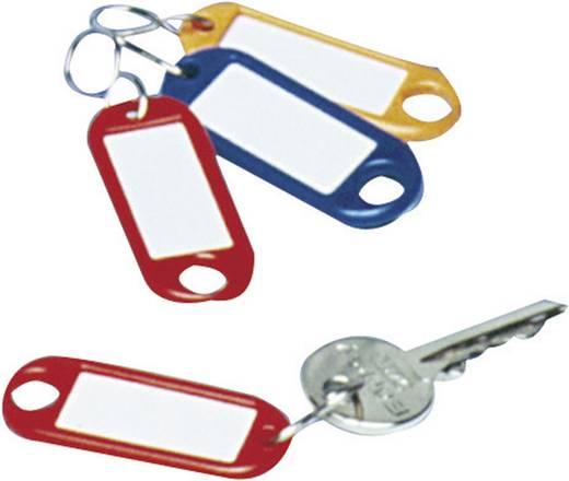 Schlüsselanhänger WEDO 262103401 Schwarz 10 St.