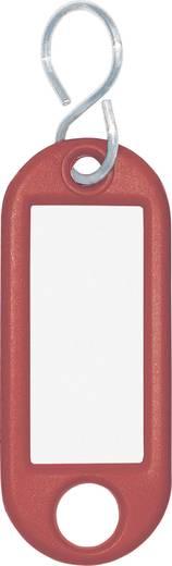 Schlüsselanhänger WEDO 262103402 Rot 10 St.
