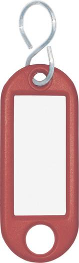 Schlüsselanhänger WEDO Classics Rot 10 St.