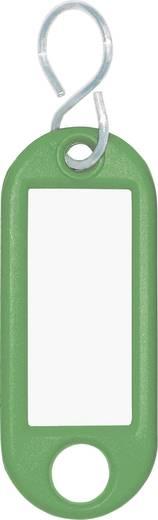 Schlüsselanhänger WEDO Classics Grün 10 St.