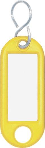 Schlüsselanhänger WEDO 262103405 Gelb 10 St.
