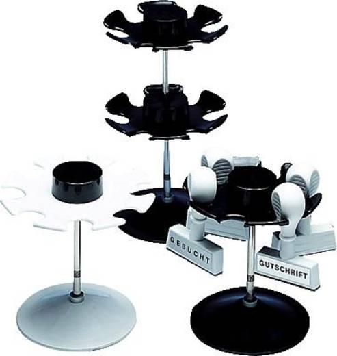 Wedo Stempelträger rund/641201 schwarz für 12 Stempel