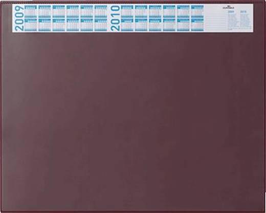 Durable Schreibunterlage mit Vollsichtplatte/7204-03 52x65cm rot