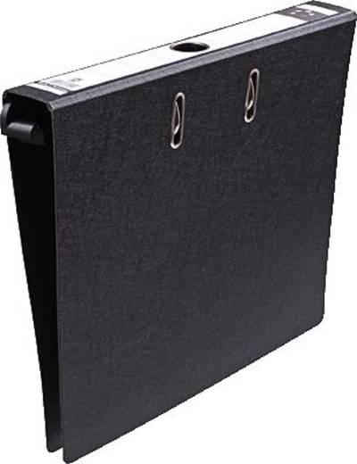 5 Star Hängeordner 50 mm schwarz Hartpappe