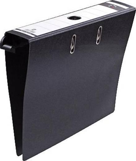 5 Star Hängeordner 80 mm schwarz Kraftkarton