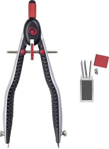 Herlitz Schnellverstellzirkel my.pen/11122322 schwarz/rot