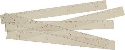 GBC Abheftstreifen/IB195020 21 Ring PolyStrip aus PP US-Teilung Inh.100