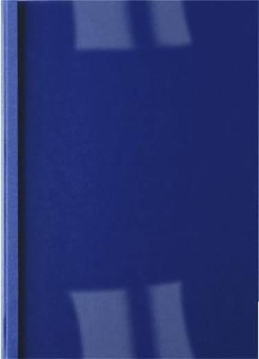 ibico Thermobindemappen /IB451003 dunkelblau Rückenbreite 1,5mm 200g/qm Inh.100