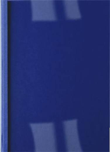 ibico Thermobindemappen /IB451010 dunkelblau Rückenbreite 3,0mm 200g/qm Inh.100