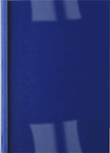 ibico Thermobindemappen /IB451027 dunkelblau Rückenbreite 4,0mm 200g/qm Inh.100