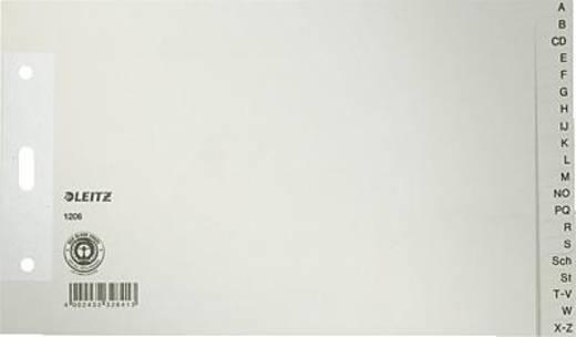 Leitz Papierregister A-Z/1206-85 240x140mm grau 100g/qm