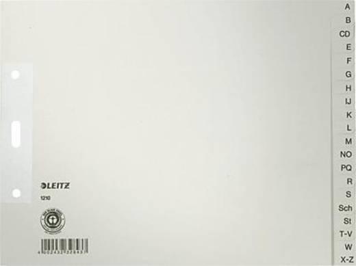 Leitz Papierregister A-Z/1210-85 240x180mm grau 100g/qm