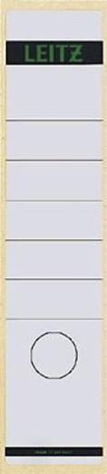 Leitz Rückenschilder breit/lang/1640-00-01 61x285mm weiß Inh.10