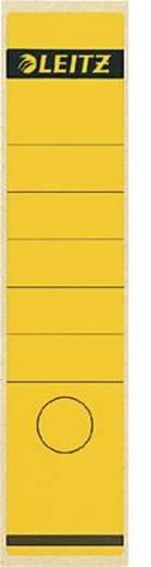 Leitz Rückenschilder breit/lang/1640-00-15 61x285mm gelb Inh.10