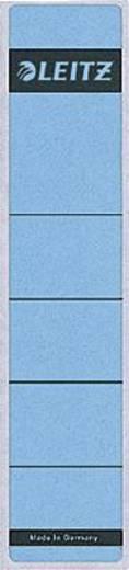 Leitz Rückenschilder/1640-00-35 61x285mm blau Inh.10