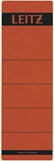Leitz Rückenschilder breit/kurz/1642-00-25 61x191mm rot Inh.10