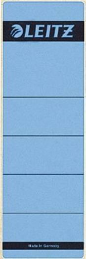 Leitz Rückenschilder/1642-00-35 61x191mm blau Inh.10