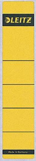 Leitz Rückenschilder schmal/kurz/1643-00-15 39x191mm gelb Inh.10