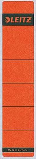 Leitz Rückenschilder schmal/kurz/1643-00-25 39x191mm rot Inh.10