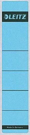 Leitz Rückenschilder schmal/kurz/1643-00-35 39x191mm blau Inh.10