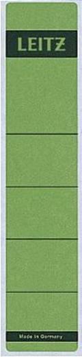 Leitz Rückenschilder schmal/kurz/1643-00-55 39x191mm grün Inh.10