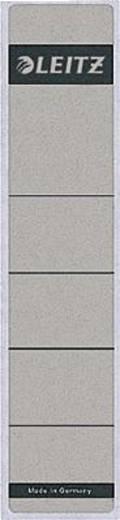 Leitz Rückenschilder schmal/kurz/1643-00-85 39x191mm grau Inh.10