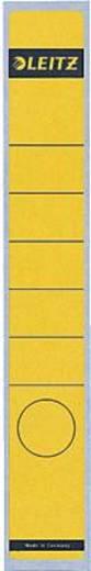 Leitz Rückenschilder schmal/lang/1648-00-15 39x285mm gelb Inh.10