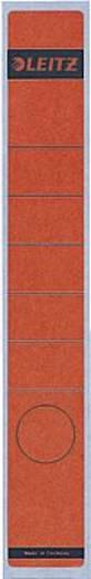 Leitz Rückenschilder schmal/lang/1648-00-25 39x285mm rot Inh.10