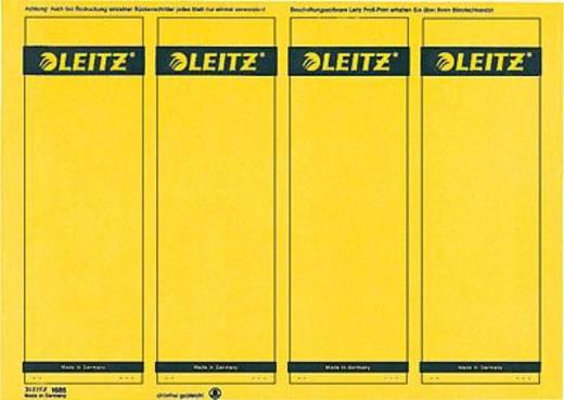 Leitz Rückenschilder PC-beschriftbar/1685-20-15 61x191mm gelb Inh.100