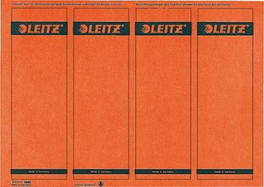 Leitz PC-beschriftbare Rückenschilder/1685-20-25 61x191mm rot Inh.100