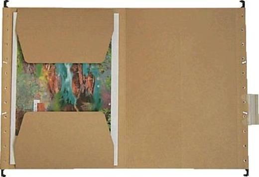 Leitz Hängetasche ALPHA/1917-00-00 für A4 naturbraun Natronkarton (RC) 230g/qm