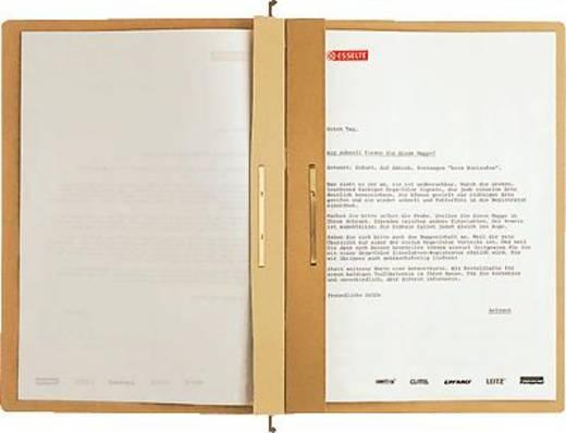 Leitz ALPHA Hängehefter/1987-00-00 A4 naturbraun 250g/qm