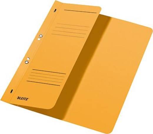 Leitz Ösenhefter A4 1/2 Deckel/3740-00-15 238x305mm gelb 250g/qm