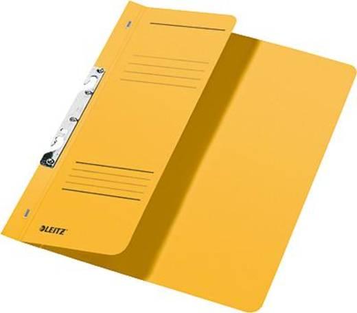 Leitz Schlitzhefter A4 1/2 Deckel/3744-00-15 238x305mm gelb 250g/qm