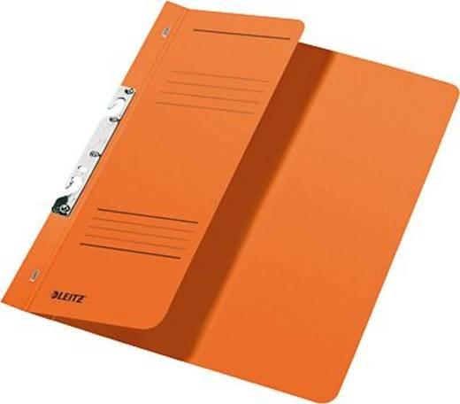 Leitz Schlitzhefter A4 1/2 Deckel/3744-00-45 238x305mm orange 250g/qm