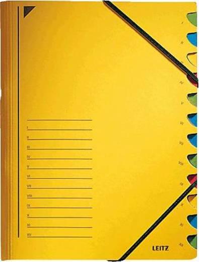Leitz Ordnungsmappe/3912-00-15 245x320mm für:A4 gelb 450g/qm