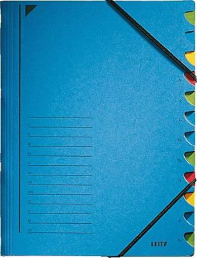 Leitz Ordnungsmappe/3912-00-35 245x320mm für:A4 blau 450g/qm