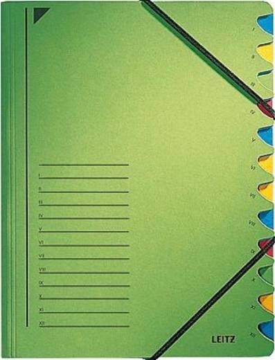Leitz Ordnungsmappe/3912-00-55 245x320mm für:A4 grün 450g/qm