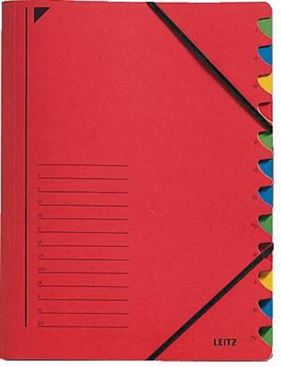 Leitz Ordnungsmappe/3912-00-25 245x320mm für:A4 rot 450g/qm