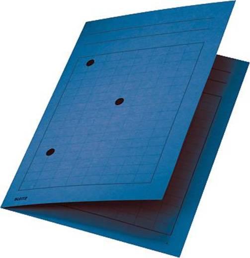 Leitz Umlaufmappen /3998-00-35 für DIN A4 220x318mm blau Manila Karton 320g/qm