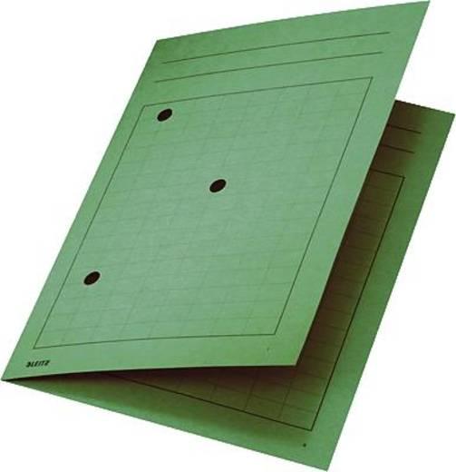 Leitz Umlaufmappen /3998-00-55 für DIN A4 220x318mm grün Manila Karton 250g/qm