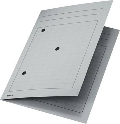Leitz Umlaufmappen /3998-00-85 für DIN A4 220x318mm grau Manila Karton 250g/qm