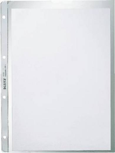 Leitz Prospekthüllen geprägt/4720-00-03 A4/130my farblos PP Inh.100