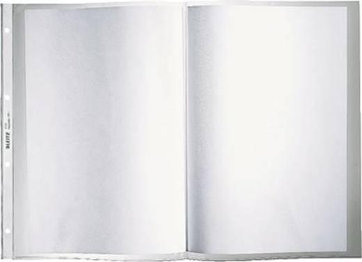 Leitz Prospekthüllen /4723-00 A3 quer auf A4-Format Farblos geprägt 120my PP