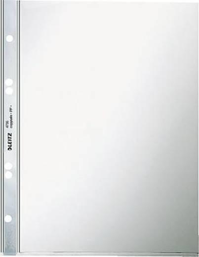 Leitz Prospekthüllen dokumentenecht A5/4735-00-00 glasklar oben offen PVC