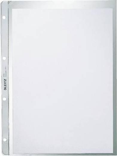 Leitz Prospekthüllen Lochseite offen/4781-00-03 A4/130my farblos geprägt